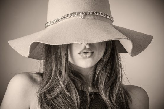 Chapeau en tissu
