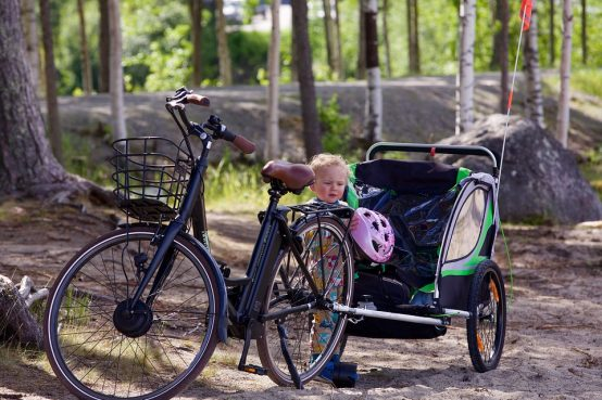 remorque vélo