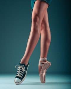 jambe sans cellulite
