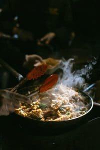poêles wok
