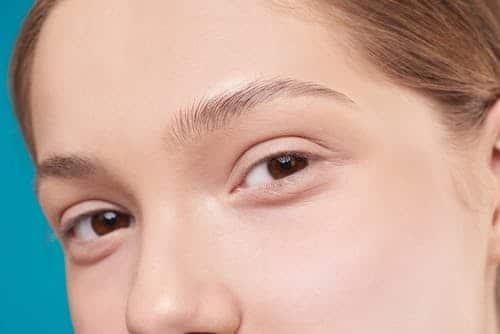 yeux sans rides