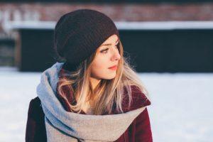 belle echarpe hiver