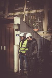 un job sur un chantier