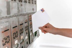 Plaque de boîte aux lettres