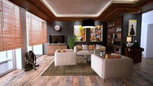 meubles bois salon