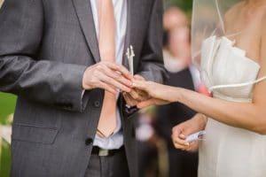 passer la bague au mariage