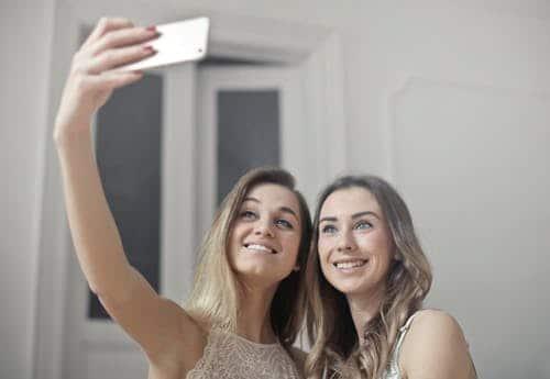 selfie sans perche