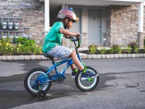 Test du vélo sans pédales