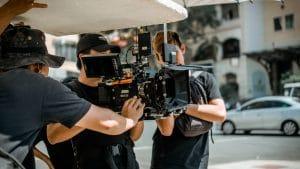 ecrans photos tournage
