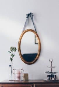 miroir design pour salon