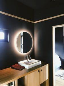 miroirs design salle de bain