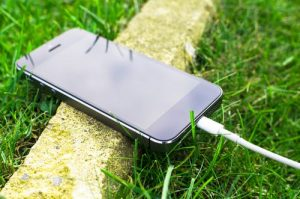 recharger un telephone