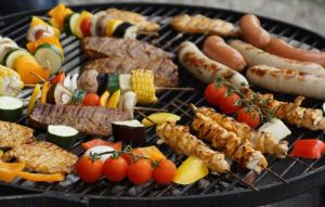 barbecues charbon rond