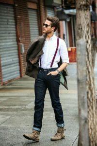 bretelles homme comment bien les porter