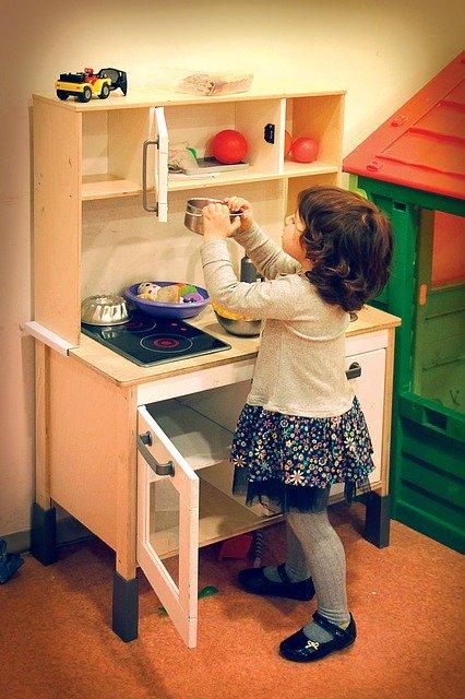 cuisines bois enfant