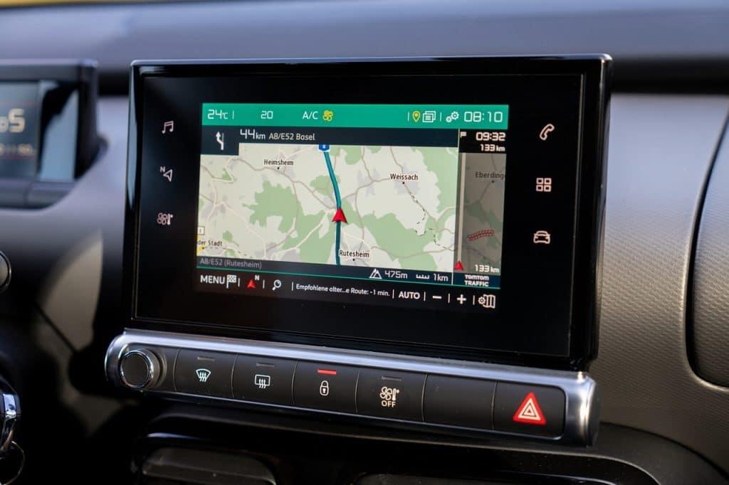 GPS pour un poids lourd